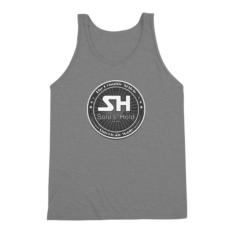 American Made Men's Triblend Tank by SolosHold's Artist Shop