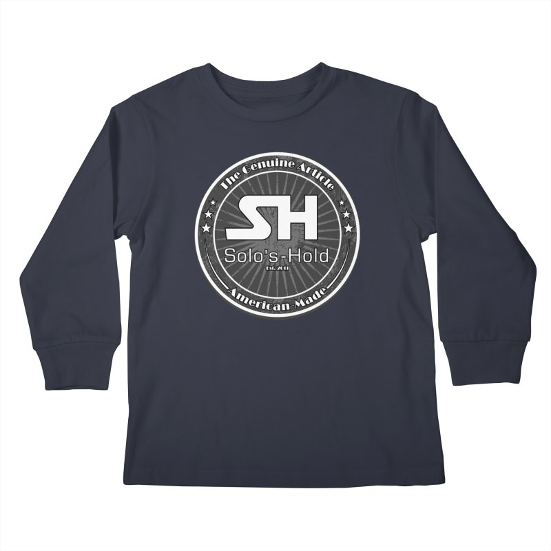 American Made Kids Longsleeve T-Shirt by SolosHold's Artist Shop