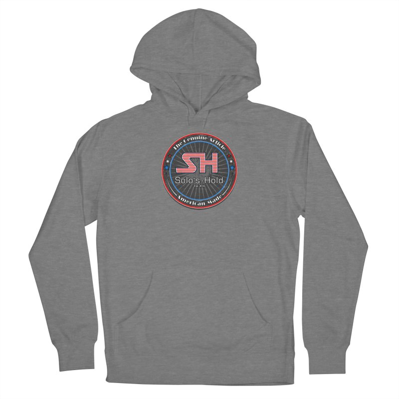 American Made - Patriot Edition Women's French Terry Pullover Hoody by SolosHold's Artist Shop