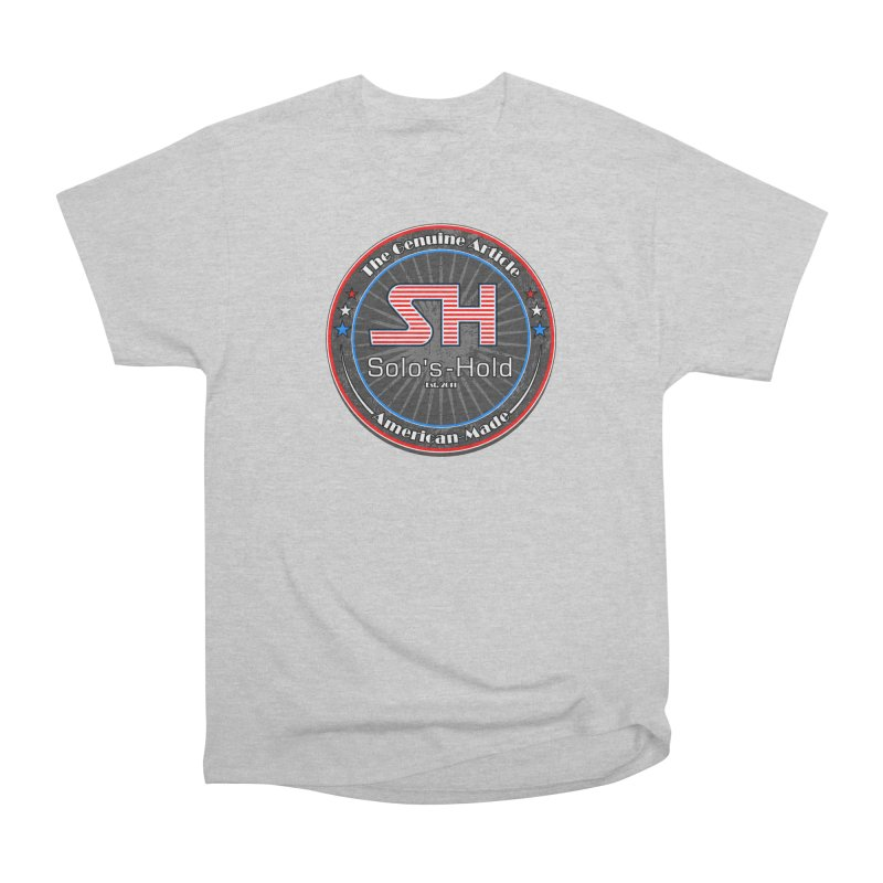 American Made - Patriot Edition Women's Heavyweight Unisex T-Shirt by SolosHold's Artist Shop