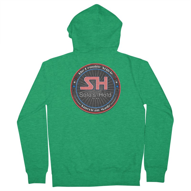 American Made - Patriot Edition Men's Zip-Up Hoody by SolosHold's Artist Shop