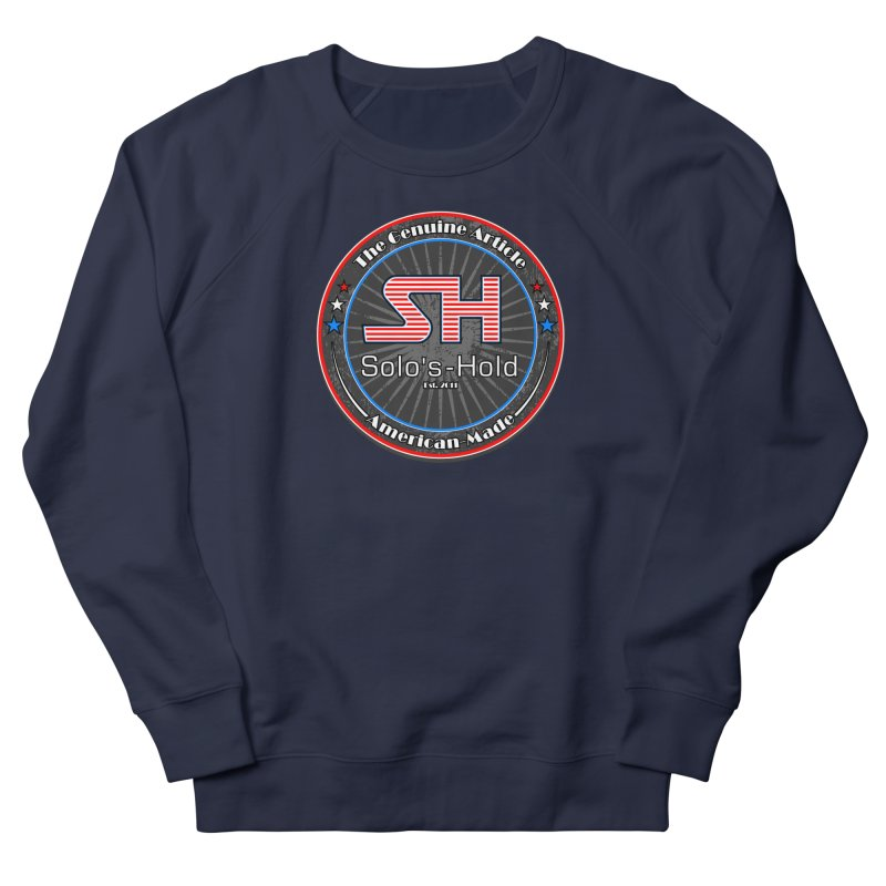American Made - Patriot Edition Men's French Terry Sweatshirt by SolosHold's Artist Shop