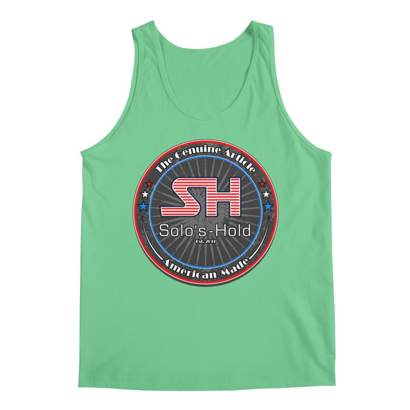 American Made - Patriot Edition Men's Regular Tank by SolosHold's Artist Shop