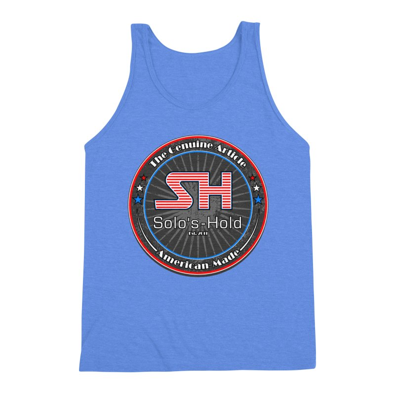 American Made - Patriot Edition Men's Triblend Tank by SolosHold's Artist Shop
