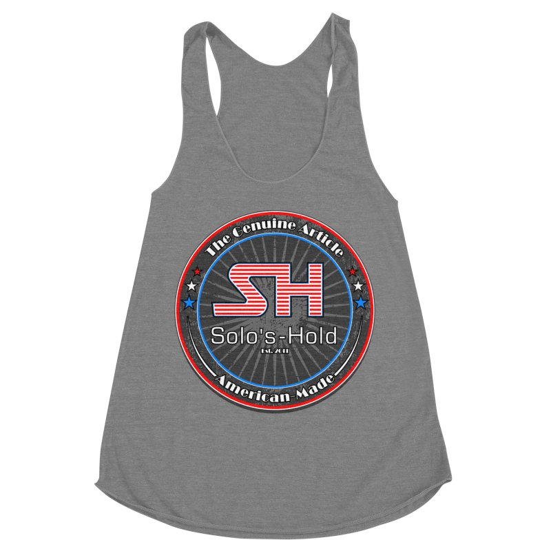 American Made - Patriot Edition Women's Tank by SolosHold's Artist Shop