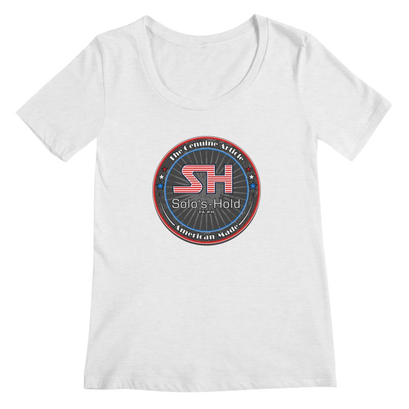 American Made - Patriot Edition Women's Scoop Neck by SolosHold's Artist Shop