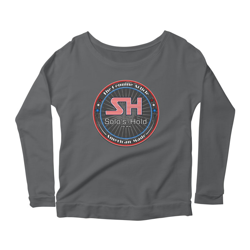 American Made - Patriot Edition Women's Longsleeve T-Shirt by SolosHold's Artist Shop
