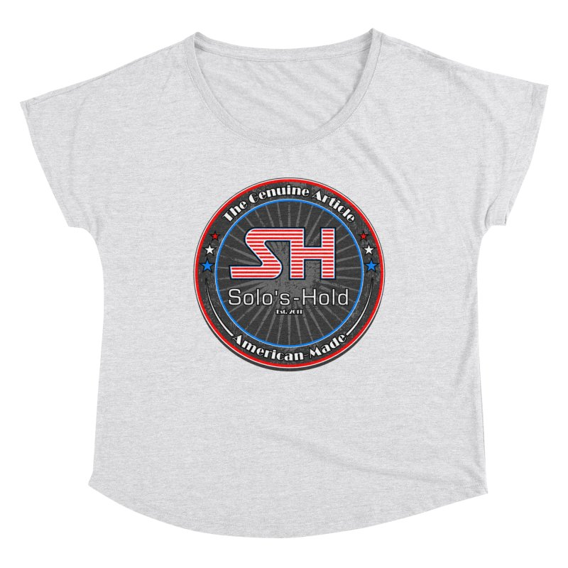 American Made - Patriot Edition Women's Dolman Scoop Neck by SolosHold's Artist Shop