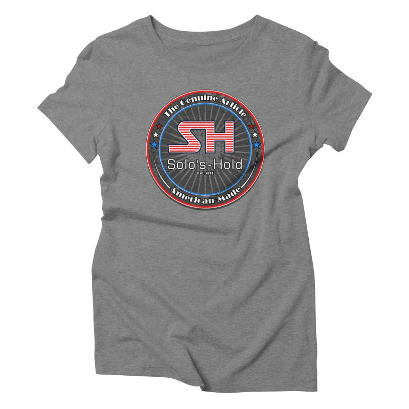 American Made - Patriot Edition Women's Triblend T-Shirt by SolosHold's Artist Shop
