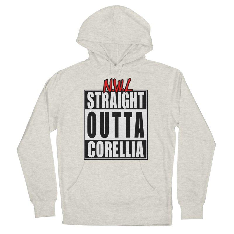 Straight Outta Corellia Men's French Terry Pullover Hoody by SolosHold's Artist Shop