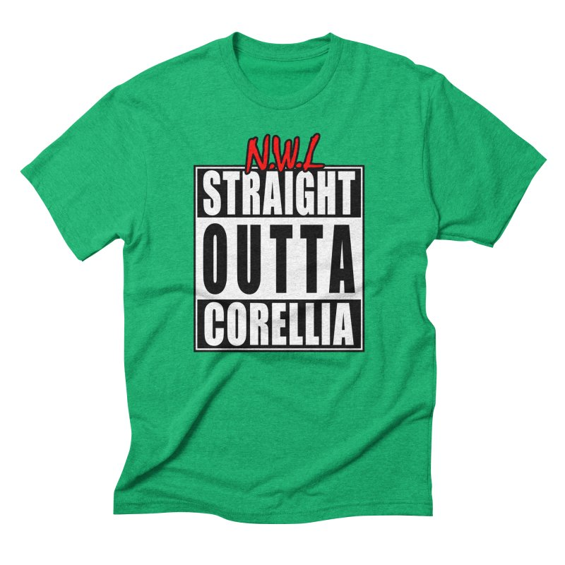 Straight Outta Corellia Men's Triblend T-Shirt by SolosHold's Artist Shop