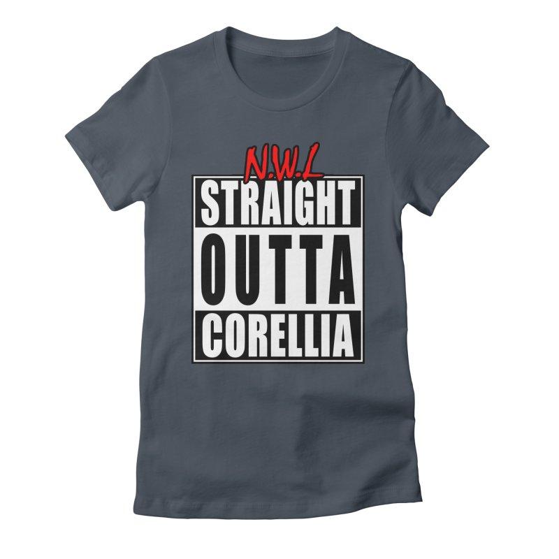 Straight Outta Corellia Women's T-Shirt by SolosHold's Artist Shop