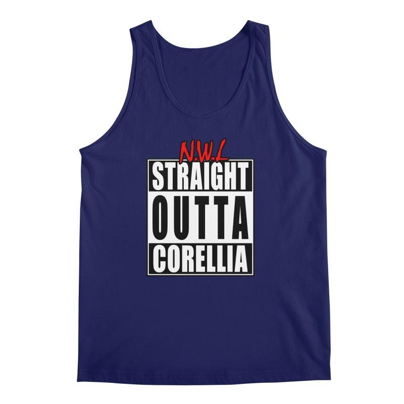 Straight Outta Corellia Men's Regular Tank by SolosHold's Artist Shop