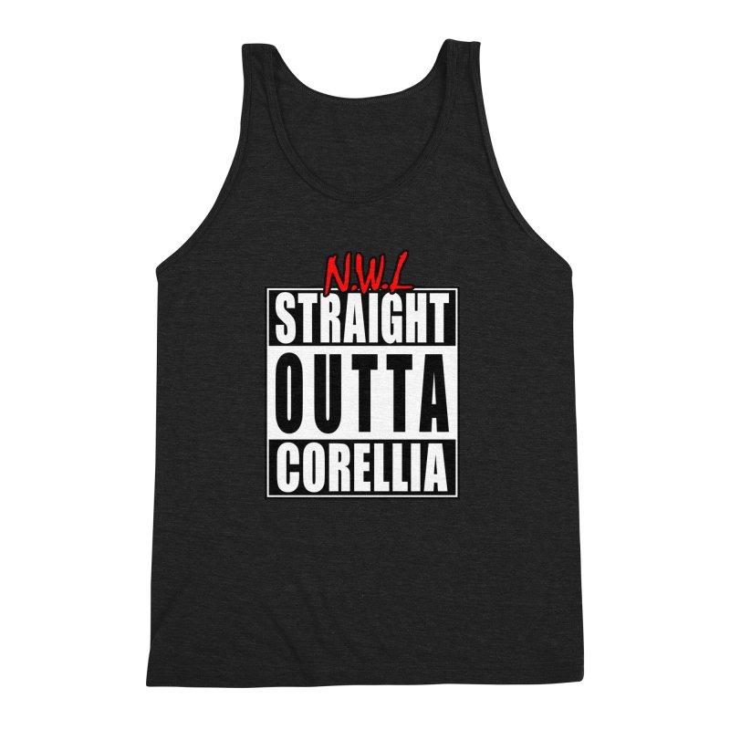 Straight Outta Corellia Men's Triblend Tank by SolosHold's Artist Shop