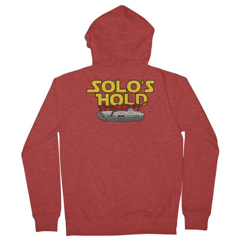 #Fanboy Women's French Terry Zip-Up Hoody by SolosHold's Artist Shop