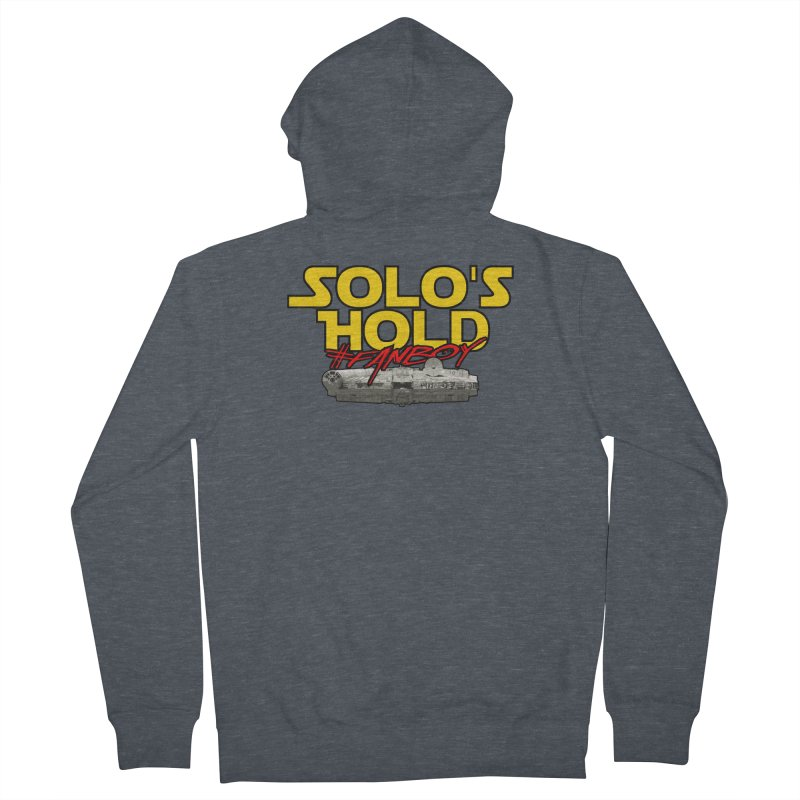 #Fanboy Men's French Terry Zip-Up Hoody by SolosHold's Artist Shop