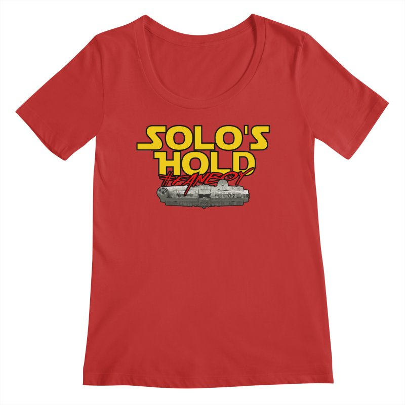 #Fanboy Women's Regular Scoop Neck by SolosHold's Artist Shop