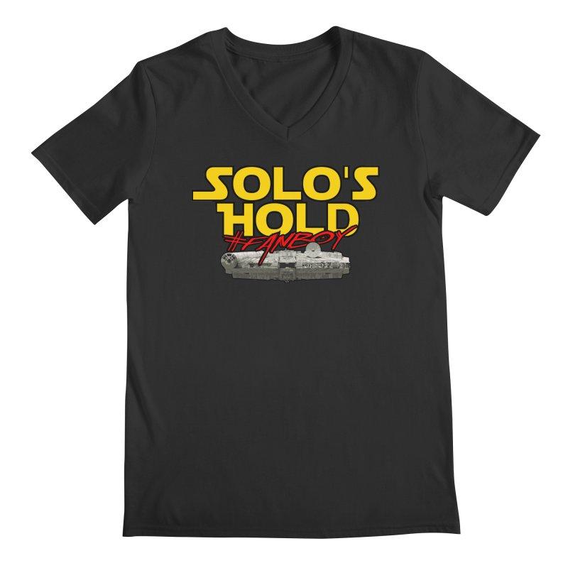 #Fanboy Men's Regular V-Neck by SolosHold's Artist Shop