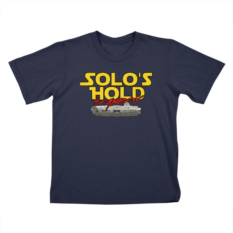 #Fanboy Kids T-Shirt by SolosHold's Artist Shop