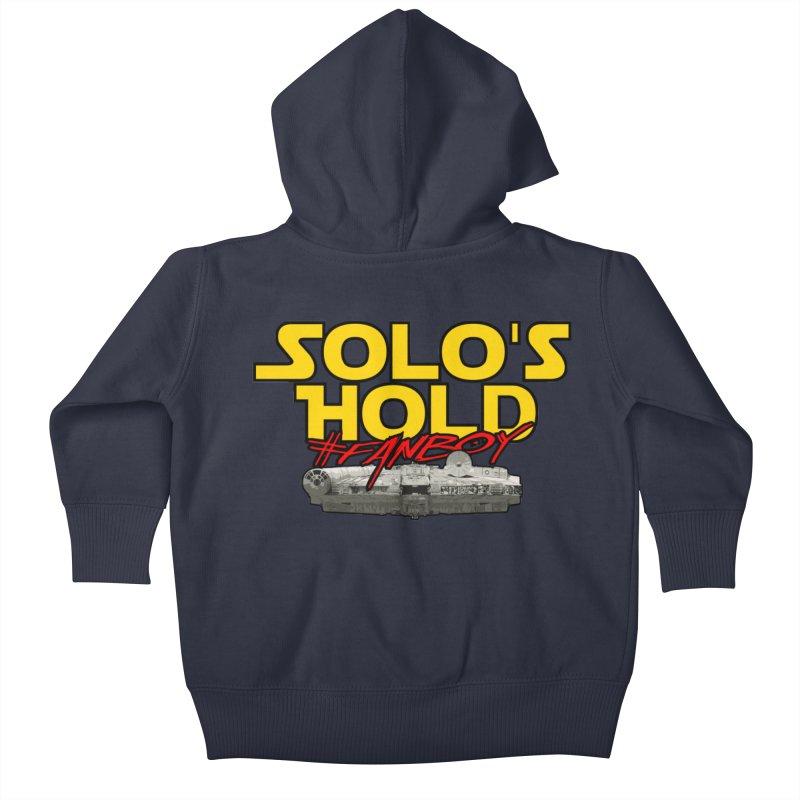 #Fanboy Kids Baby Zip-Up Hoody by SolosHold's Artist Shop