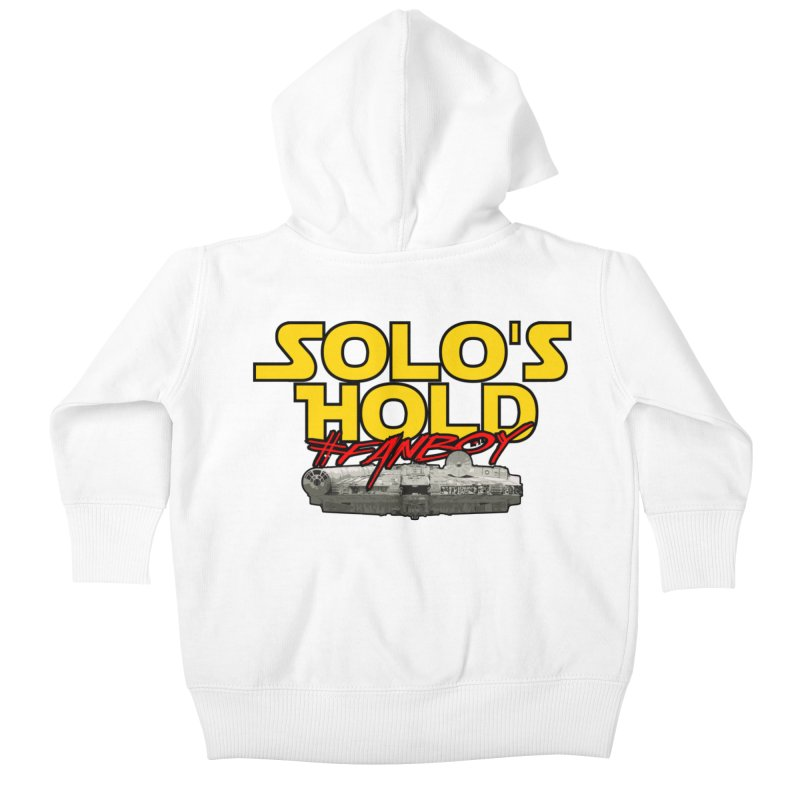 #Fanboy Kids Baby Zip-Up Hoody by SolosHold's Artist Shop