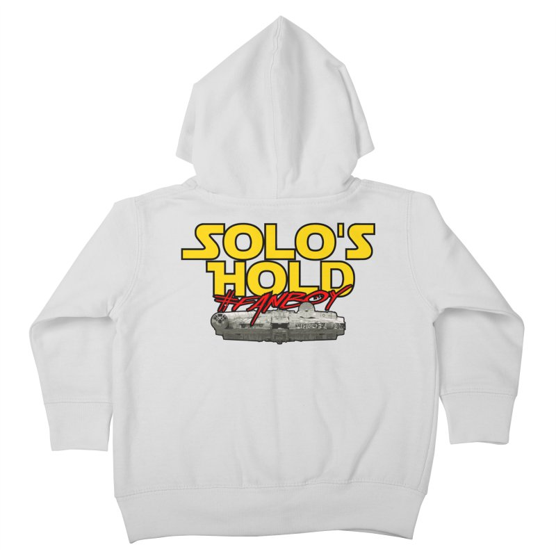 #Fanboy Kids Toddler Zip-Up Hoody by SolosHold's Artist Shop