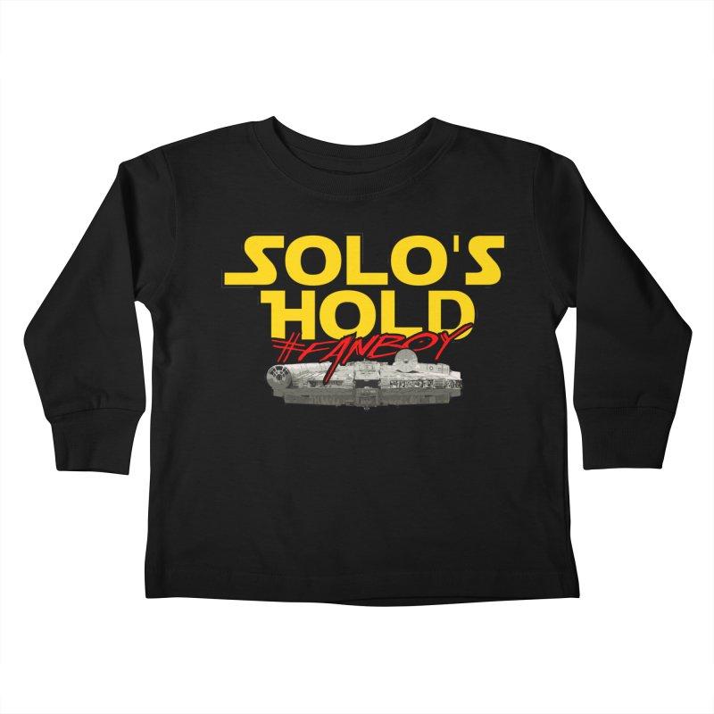 #Fanboy Kids Toddler Longsleeve T-Shirt by SolosHold's Artist Shop