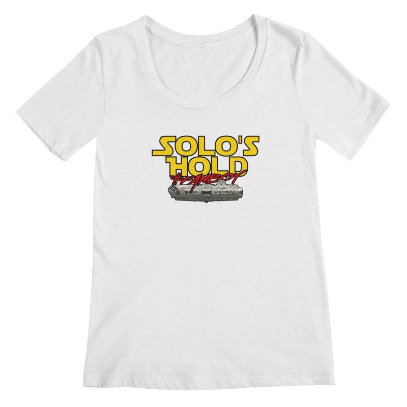 #Fanboy Women's Scoop Neck by SolosHold's Artist Shop