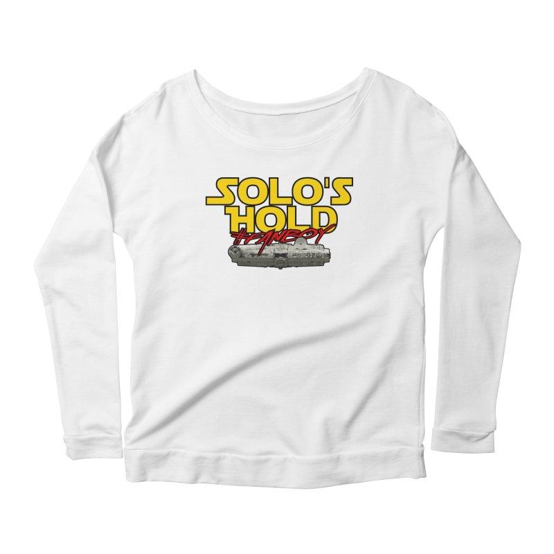 #Fanboy Women's Scoop Neck Longsleeve T-Shirt by SolosHold's Artist Shop