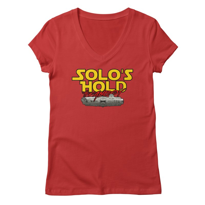 #Fanboy Women's Regular V-Neck by SolosHold's Artist Shop