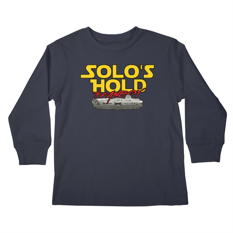 #Fanboy Kids Longsleeve T-Shirt by SolosHold's Artist Shop