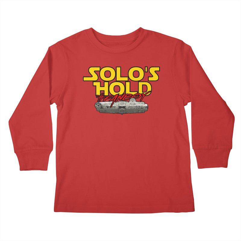 #Fanboy Kids Longsleeve T-Shirt by SolosHold's Artist Shop