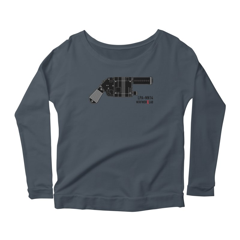 LPA NN14 Dark Women's Scoop Neck Longsleeve T-Shirt by SolosHold's Artist Shop