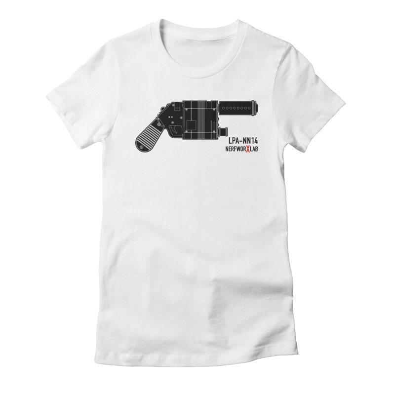 LPA NN14 Dark Women's Fitted T-Shirt by SolosHold's Artist Shop
