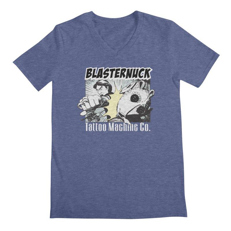 Blasternuck Dark Men's Regular V-Neck by SolosHold's Artist Shop