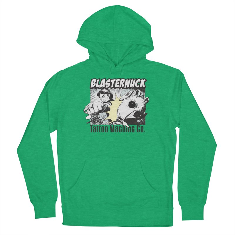 Blasternuck Light Men's French Terry Pullover Hoody by SolosHold's Artist Shop