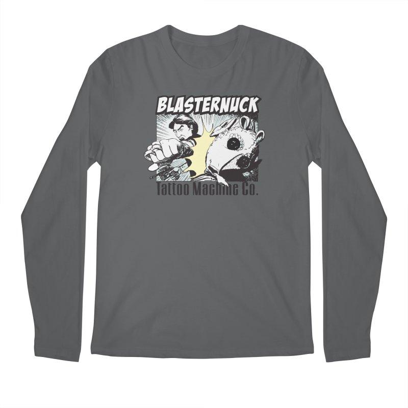 Blasternuck Light Men's Longsleeve T-Shirt by SolosHold's Artist Shop