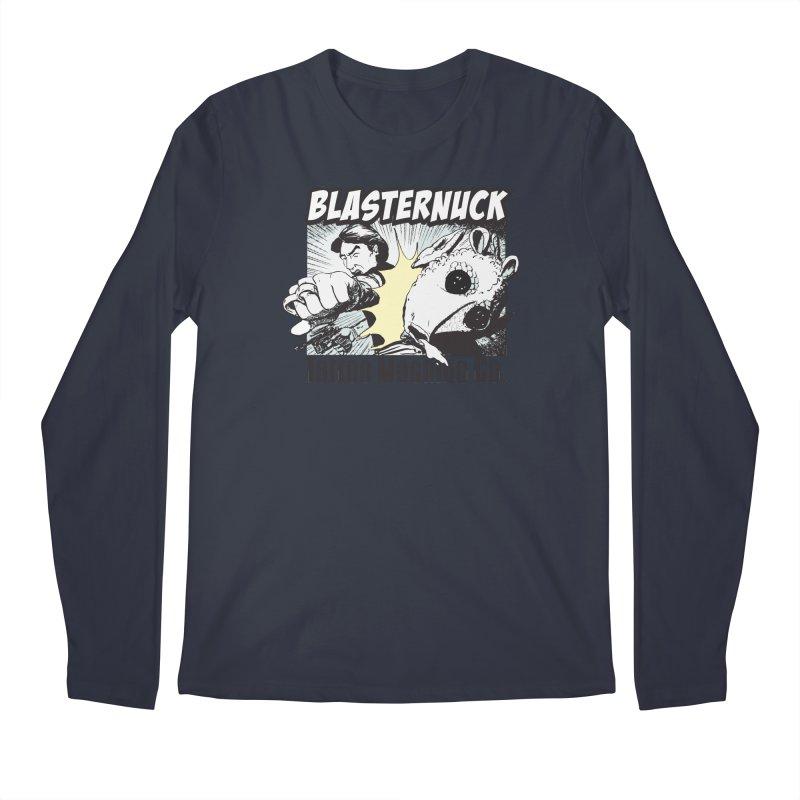 Blasternuck Light Men's Regular Longsleeve T-Shirt by SolosHold's Artist Shop