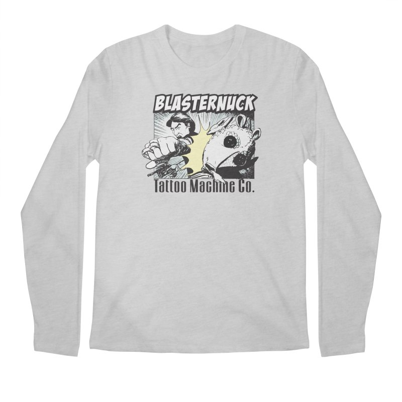 Blasternuck Light Men's Regular Longsleeve T-Shirt by SolosHold's Artist Shop