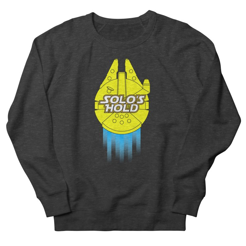 Deco Falcon Men's French Terry Sweatshirt by SolosHold's Artist Shop