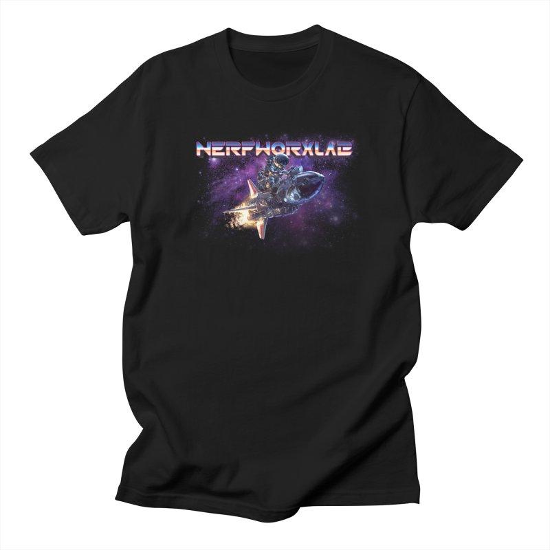 NERFWORX Retro Men's T-Shirt by SolosHold's Artist Shop