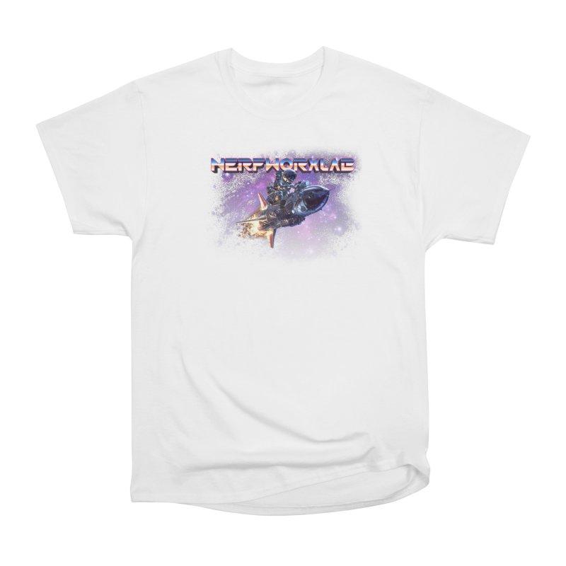 NERFWORX Retro Men's Heavyweight T-Shirt by SolosHold's Artist Shop