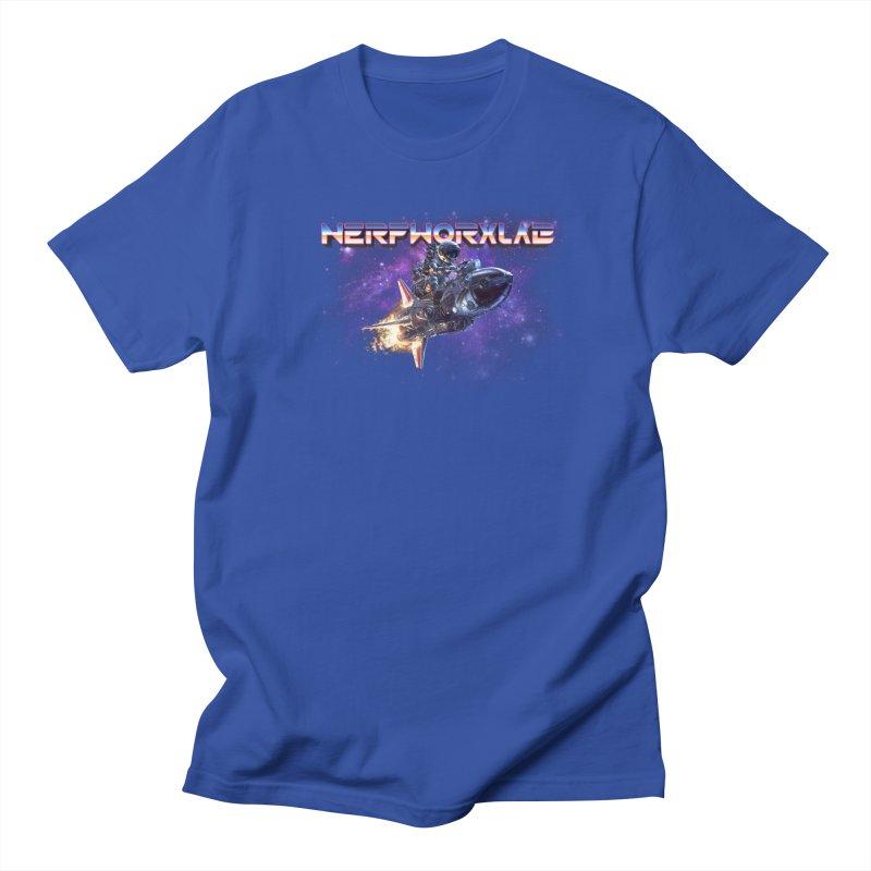 NERFWORX Retro Men's Regular T-Shirt by SolosHold's Artist Shop