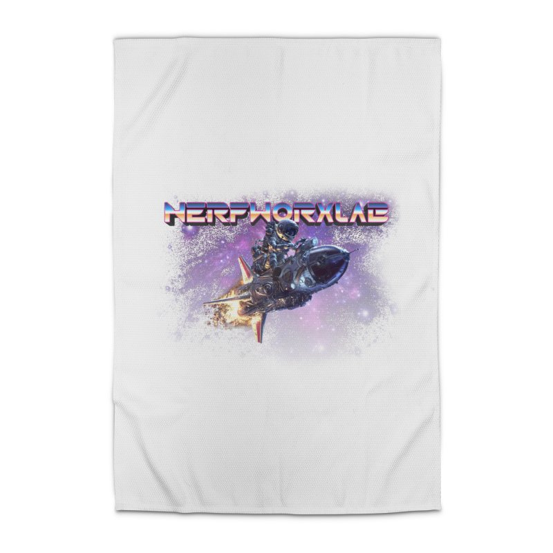 NERFWORX Retro Home Rug by SolosHold's Artist Shop