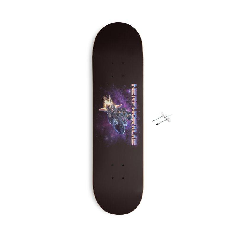 NERFWORX Retro Accessories Skateboard by SolosHold's Artist Shop