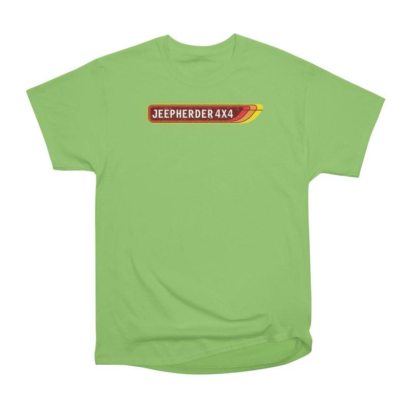 JEEPHERDER4X4 Men's Heavyweight T-Shirt by SolosHold's Artist Shop