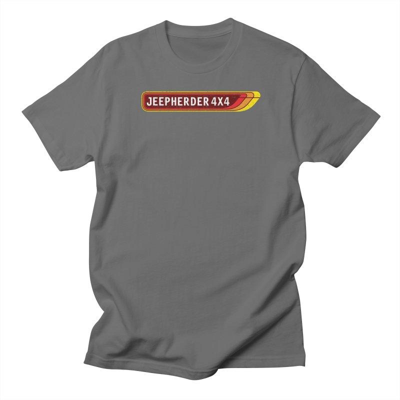 JEEPHERDER4X4 Men's T-Shirt by SolosHold's Artist Shop