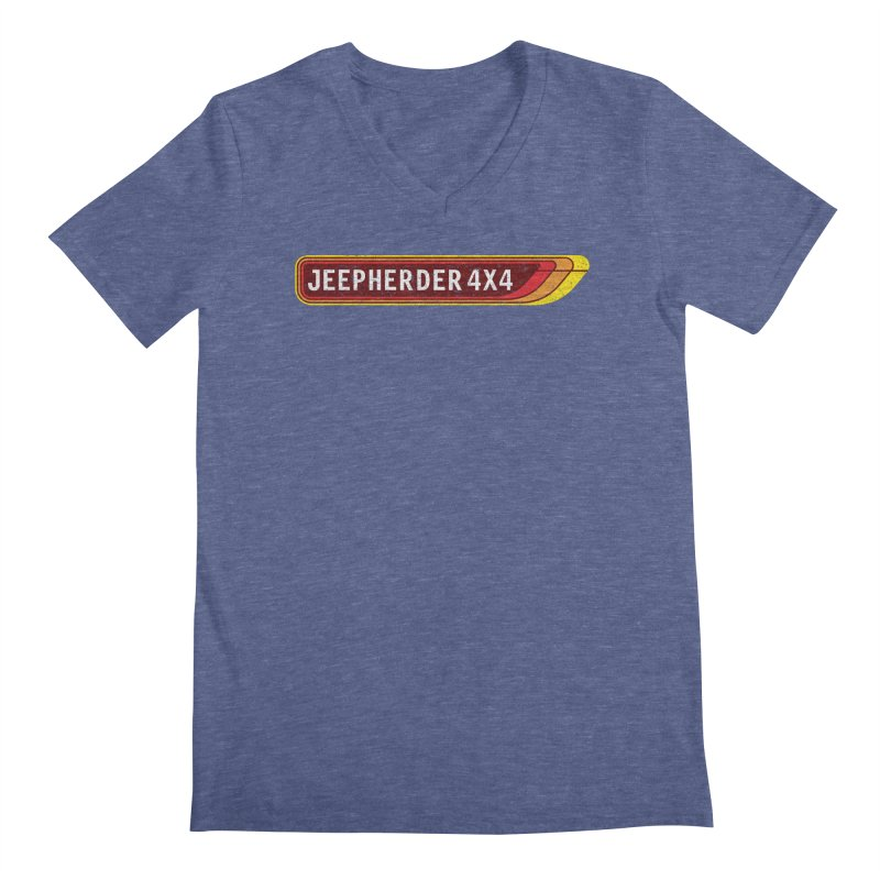 JEEPHERDER4X4 Men's Regular V-Neck by SolosHold's Artist Shop