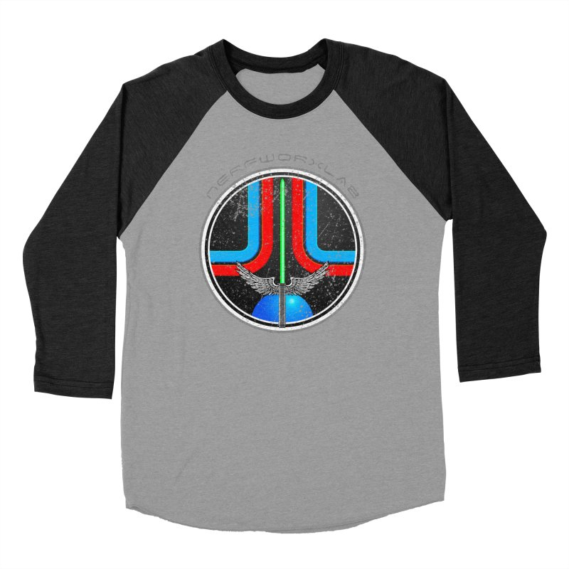 Last Starfighter Men's Baseball Triblend Longsleeve T-Shirt by SolosHold's Artist Shop