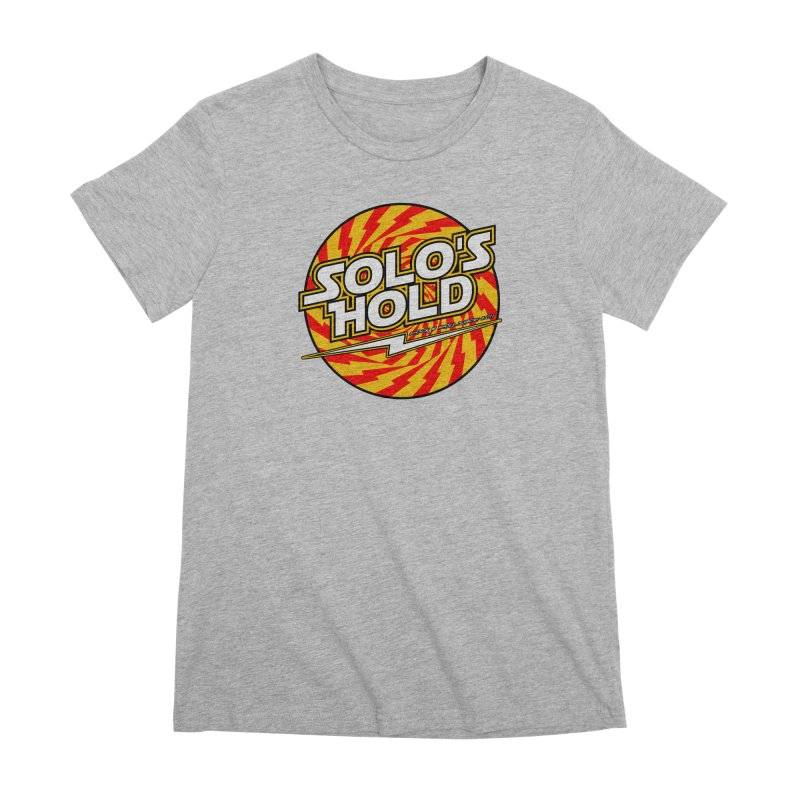 Rock N' Roll Women's Premium T-Shirt by SolosHold's Artist Shop
